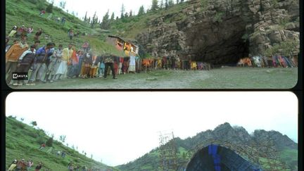 Cave for badrinath movie