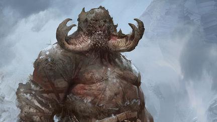 God of War Visual Development- Troll