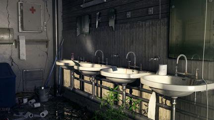 Abandoned Men's Room