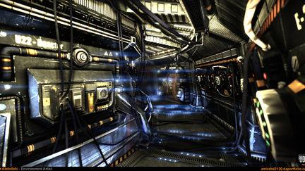 Sci-Fi Corridor V.2