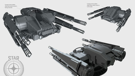 Capital Ship Turret - Star Citizen