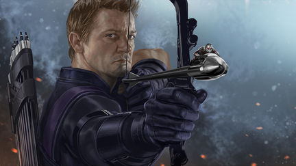 OK Arrow Guy Keyframe- Captain America: Civil War