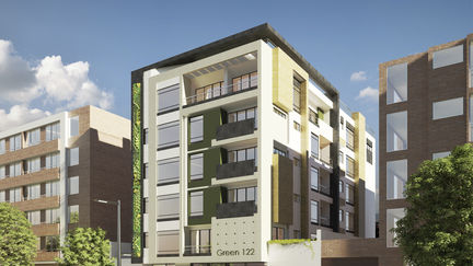 Geen 122 Apartment Building