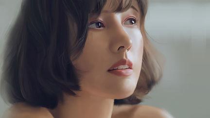 Portrait Study - Lee Hyori