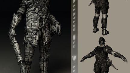 WIP - Prepared Orc - Wire