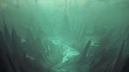 "Speed painting - ""Hidden City"""