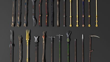 Staff weapons for gothic 3