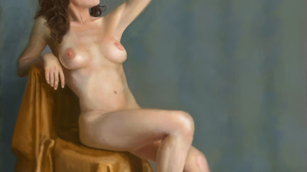 Face and Figure Workshop Final Image *Warning Nudity*
