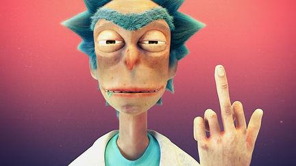 I'm Dickle Rick, Morty!