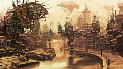 Village Steampunk