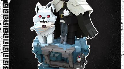 Game  of thrones Mini Jon Snow