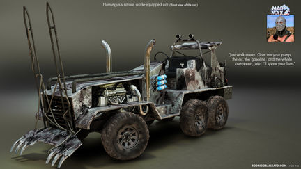 HMC #46 - Lord Humungos from Mad Max 2