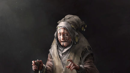 Old wise woman (Heroes)