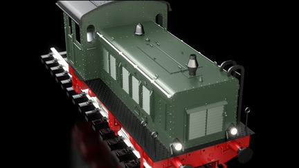 DRV toy train