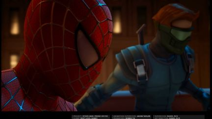 Spider-Man: Friend or Foe Cine