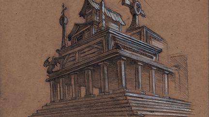 Environment Sketch: building