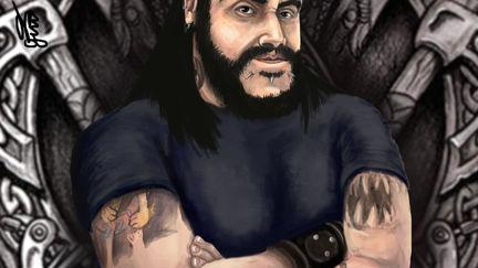 Caricature Christiano Hammerhand