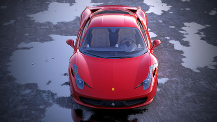 Ferrari 458 Italia Exterior