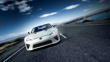 Lexus LF-A Automotive visualisation