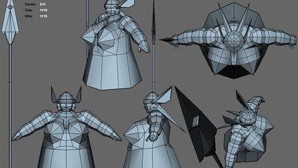 Viveka Knarrarbringa - 1k triangles