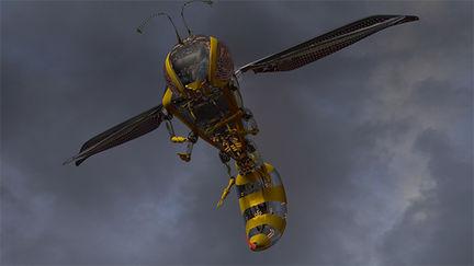 Yellow Jacket Surveillance Drone