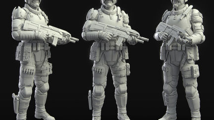 G.N.R IC Trooper 3D