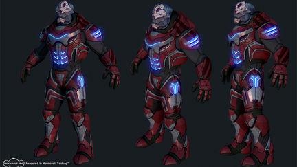 Grym - Mass Effect Challenge (realtime render)