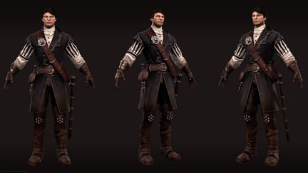 Piter Blood - 3D Character