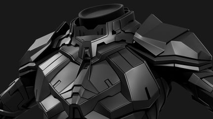 EVE Online - Combat Suit - Highpoly