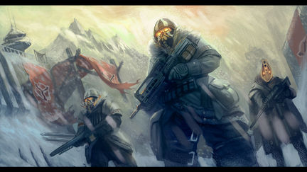 Arctic troops