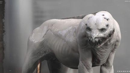 Stalker Creature - FRAMESHIFT GAME CONCEPT ART