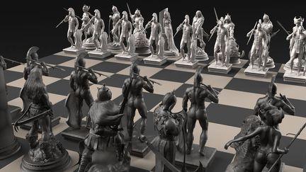 - Frazetta´s Chess Set -