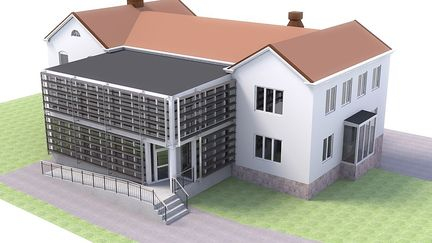 Energy company exterior