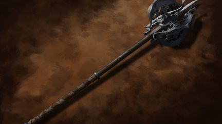 Gothic Two-Handed Mace