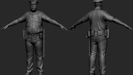 Officer Richard High