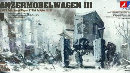 panzermobelwagen III imagynary box art