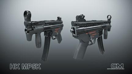 HK MP5K