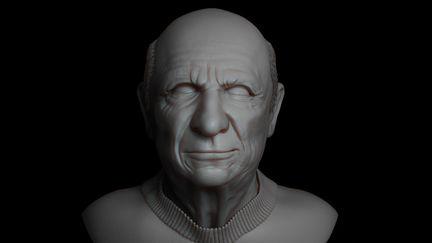 Pablo Picasso Sculpt