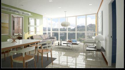 Apartment Building at El Rosal, Caracas