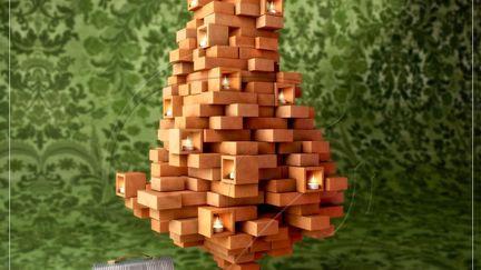 Christmas BrickTree