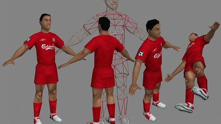 Rt3d Liverpool Club Player