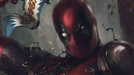 Deadpool vs Venom Symbiote.