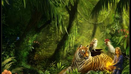 Miranda and the Tiger's Eye