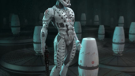Stormtrooper EVO Space Jockey Engineer prometheus