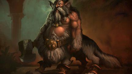 Dwolfen Warrior