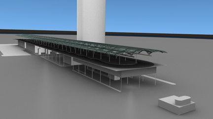 Porposed San Fransicsco Transit Terminal