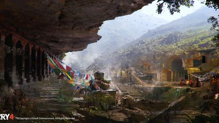 FarCry4 Concept Art - Temple Outside