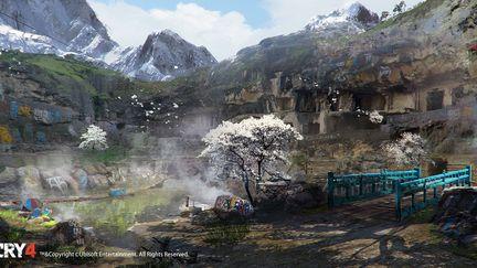 FarCry4 Concept Art - Temple entrance