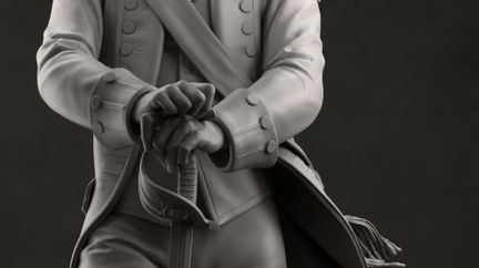 The Order: 1886 - Military Statue