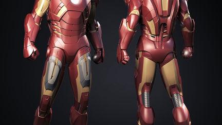 Avengers Iron Man MkVII